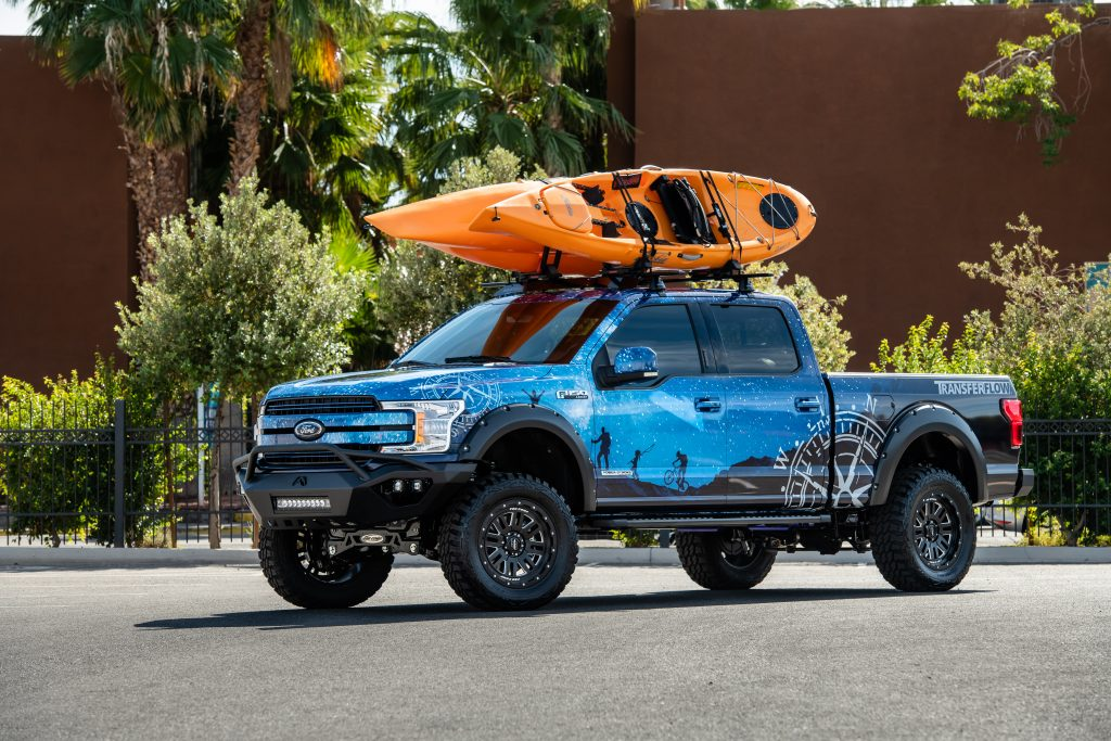 transfer flow builds  ultimate family adventure pickup